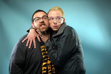 Simon Pegg y Nick Frost producirán una nueva comedia de terror