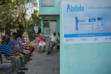 Cuba empieza vacunación con su propio antígeno
