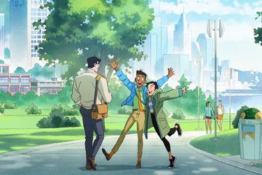 Así lucirán Clark, Lois y Jimmy en la nueva serie animada My Adventures With Superman