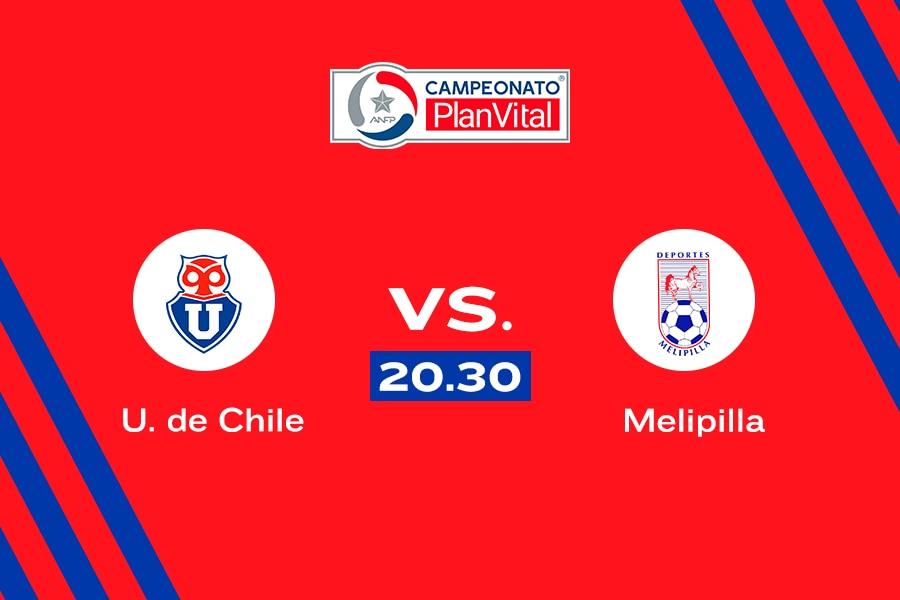 U. de Chile vs. Melipilla