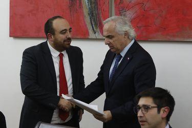 Mesa de trabajo DC anti narcodelincuencia se reúne con el Ministro del Interior