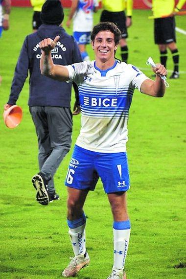 Clemente Montes, futbolista de Universidad Católica.