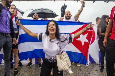 Régimen cubano confirma muerte de un hombre y varios manifestantes heridos en protestas