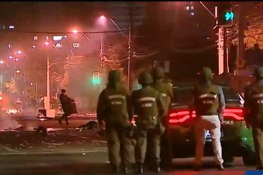El mapa de las barricadas que tensionaron las calles de 11 comunas de Santiago