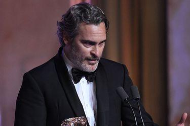 """Joaquin Phoenix y su crítica en los BAFTA: """"Mandamos un mensaje muy claro a la gente de color, que no son bienvenidos"""""""