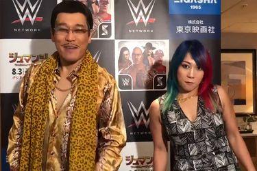Asuka revive un viejo meme en la visita de la WWE a Japón