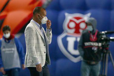 Rafael Dudamel, técnico de la U, se prepara para su segundo Superclásico ante Colo Colo, en el estadio Monumental.