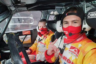Emilio Fernández no logra terminar el Rally de Estonia por una falla en el motor