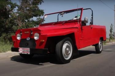 Citroën Yagán: A 50 años del primer auto diseñado y construido en Chile
