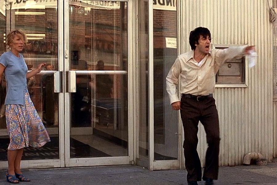 Al Pacino revela que improvisó una famosa escena de Tarde de perros - La  Tercera