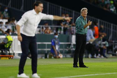 """Pellegrini: """"Al final de temporada veremos qué puntos logramos y si llegamos a puestos europeos"""""""