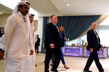 El secretario de Estado estadounidense, Mike Pompeo, ad portas de firmar acuerdo con talibanes. (Foto: Reuters)