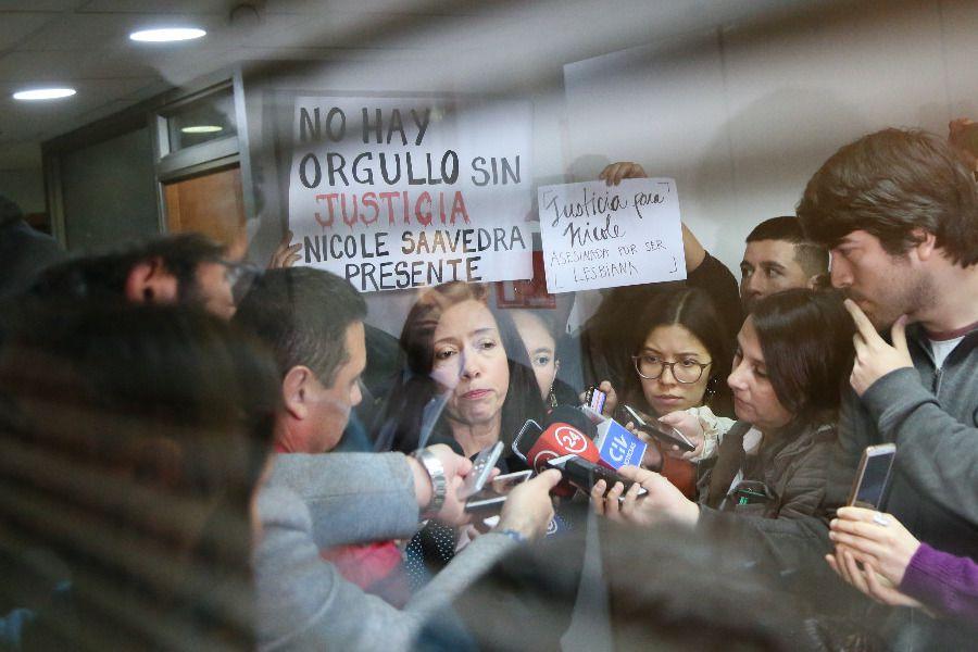 Fiscal Claudia Perivancich se refiere a la investigación del asesinato de Nicole Saavedra