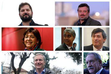 Banderazos, videos y el primer debate: candidatos presidenciales dan puntapié inicial a la carrera por La Moneda