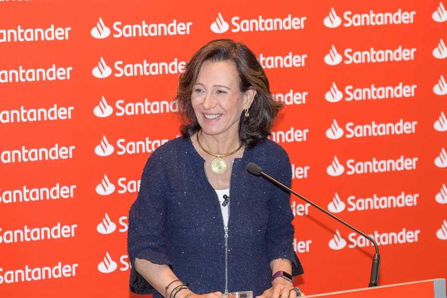 Presidenta de Banco Santander, Ana Botín
