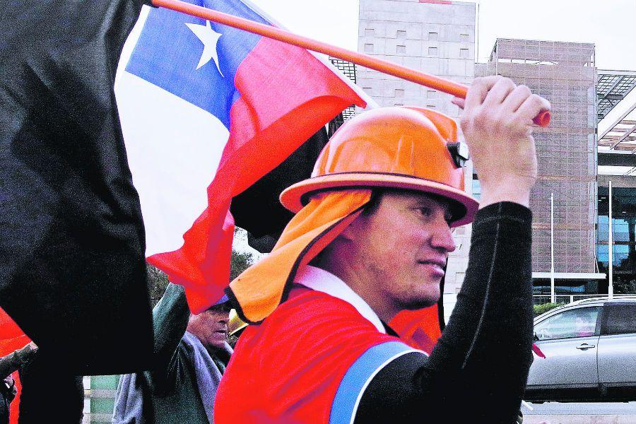 Trabajador Chuquicamata