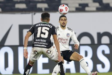 Nicolás Blandi durante la ultima semana ,durante el partido valido por la séptima fecha del Campeonato Nacional AFP PlanVital 2021, entre Colo Colo vs Palestino, disputado en el Estadio Monumental.
