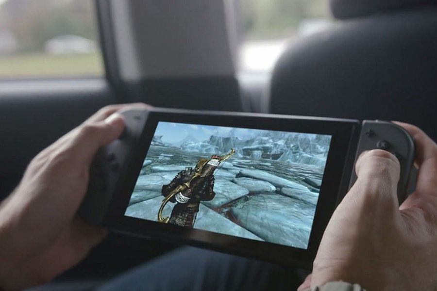 Nintendo-Switch-Skyrim
