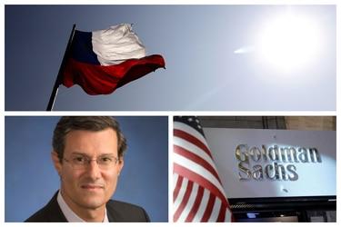 """Alberto Ramos, de Goldman Sachs: """"La gente está mirando Chile con cierta preocupación"""""""