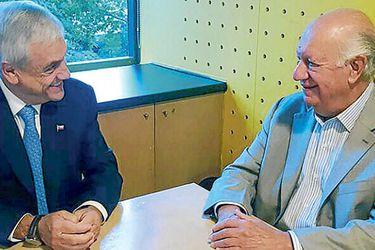Lagos y Piñera se reunirán en seminario de Moneda