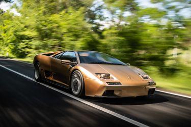 Fiesta en Italia: Lamborghini celebra los 30 años del visceral Diablo