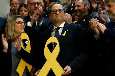 Presidente de Cataluña admite ante a la justicia española que desobedeció a la Junta Electoral