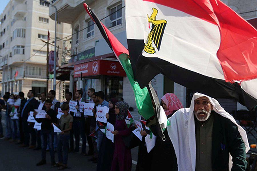 palestinos celebran acuerdo