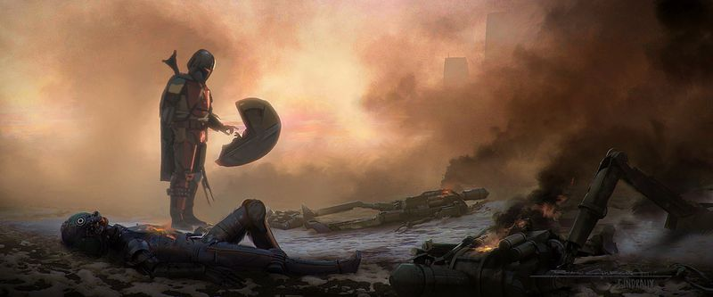 Estas imágenes de The Mandalorian serán grandes fondos de