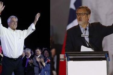 Segunda vuelta, Guillier y Piñera
