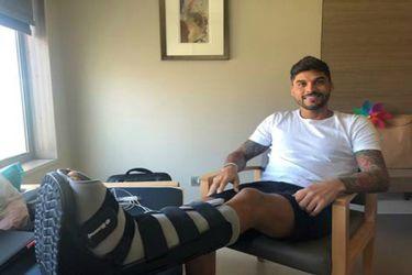 Pablo Quintanilla es dado de alta después de su grave lesión en Perú