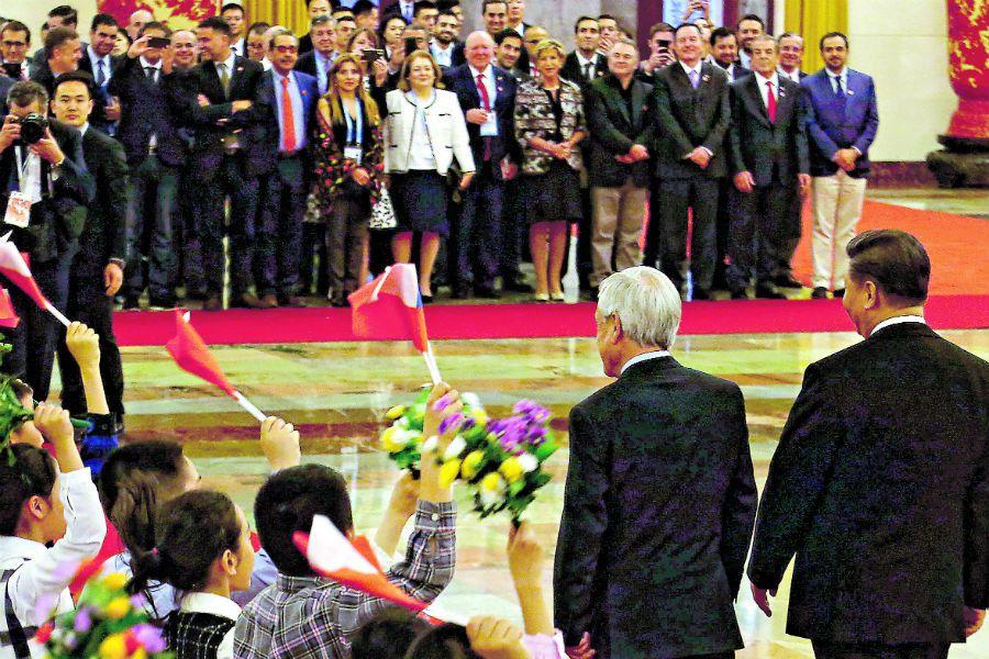 CHINA Sebastián Piñera se reúne con el Presidente de China XI Jinping (45356588)