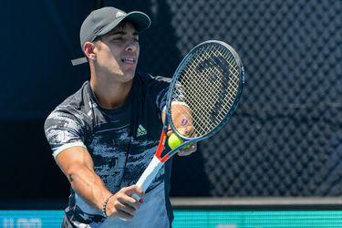 Christian Garin cae en dobles y se despide del ATP de Adelaida