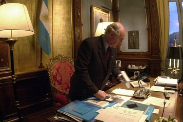 Fernando de la Rúa: el Presidente de la crisis de 2001