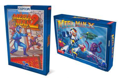 Mega Man relanzam