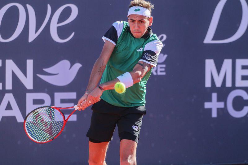 Alejandro Tabilo cayó en el Challenger de Zagreb.