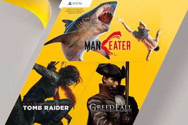 Maneater, Shadow of the Tomb Raider y Greedfall llegan gratis a Playstation Plus en enero