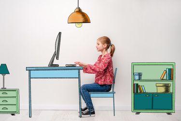 Cómo organizar un espacio de estudio para tus hijos