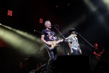 STING AND SHAGGY EN CHILE