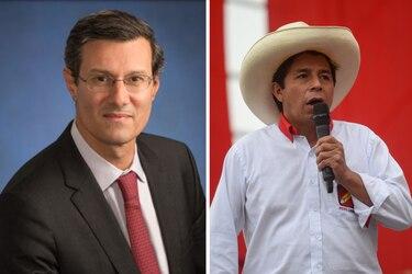 """Alberto Ramos, de Goldman Sachs: """"Pedro Castillo ha moderado su discurso y se ha distanciado bastante del liderazgo más marxista y radical de su partido"""""""