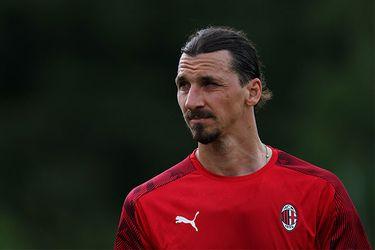 El Milan da a conocer el parte médico de la lesión de Ibrahimovic