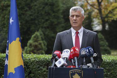 Presidente de Kosovo renuncia a su cargo tras ser imputado por crímenes de guerra