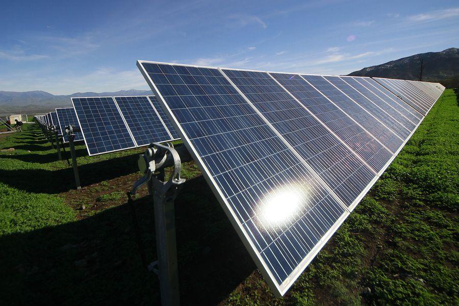Inauguran planta fotovoltaica mas grande de la Región Metropolitana