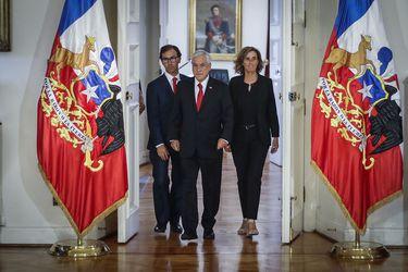 Cambio de gabinete: Marcela Cubillos y Raúl Figueroa