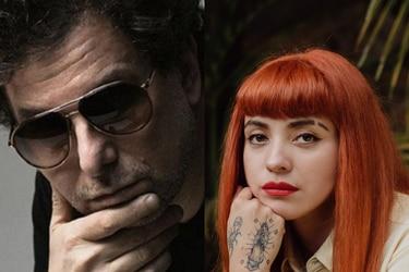 Dios los cría: Mon Laferte canta en el nuevo disco de Andrés Calamaro