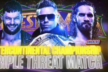The Miz, Bálor y Rollins: Una lucha a la altura del Campeonato Intercontinental