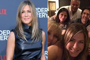 Jennifer Aniston debuta en Instagram con foto junto a compañeros de Friends