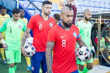 Arturo Vidal, Claudio Bravo, Selección, La Roja