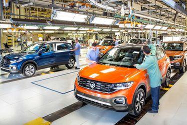 Por la falta de microchips: Volkswagen paraliza producción en tres de sus fábricas brasileñas