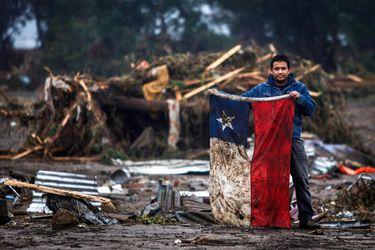 "La batalla judicial del icónico ""hombre  de la bandera"""
