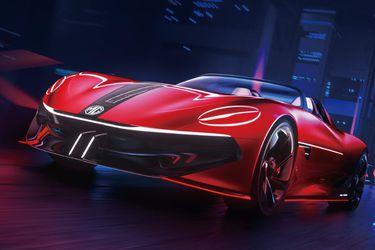 MG devela el Cyberstar Concept, su esperado roadster eléctrico